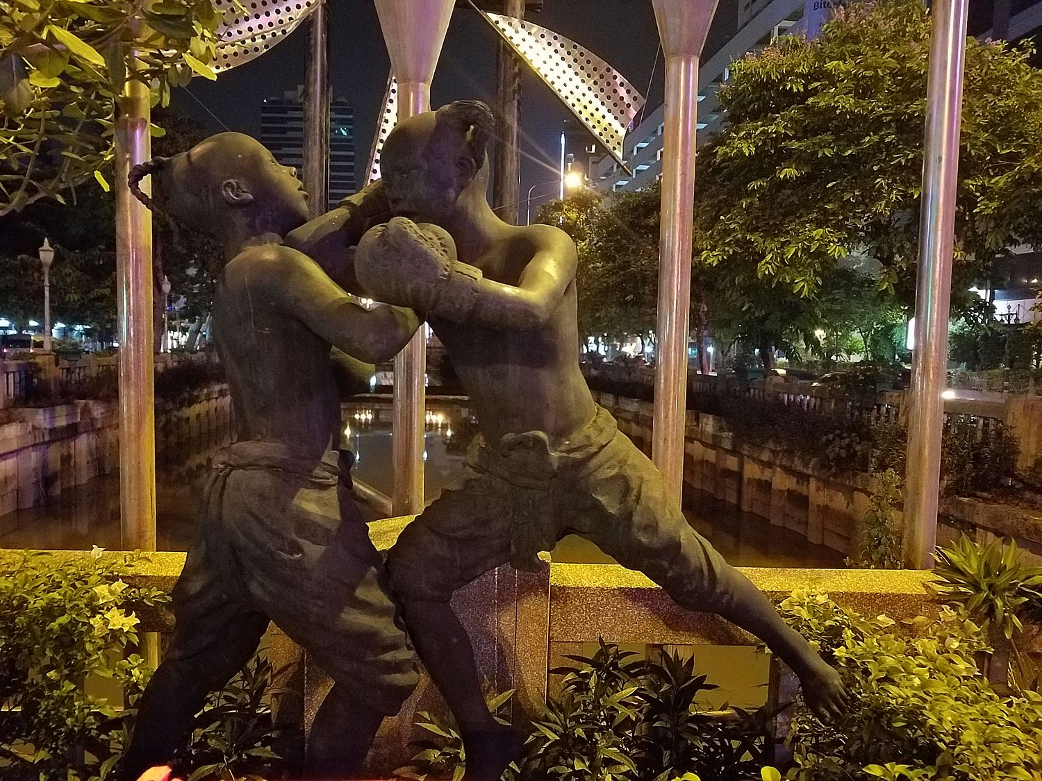 Thai boxing is a national sport and martial art